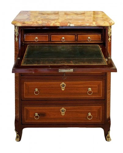 French Commode secretaire stamped Pierre PIONIEZ