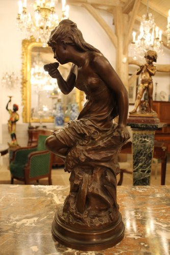 La source - bronze de Mathurin MOREAU (1822-1912), fonte Colin -