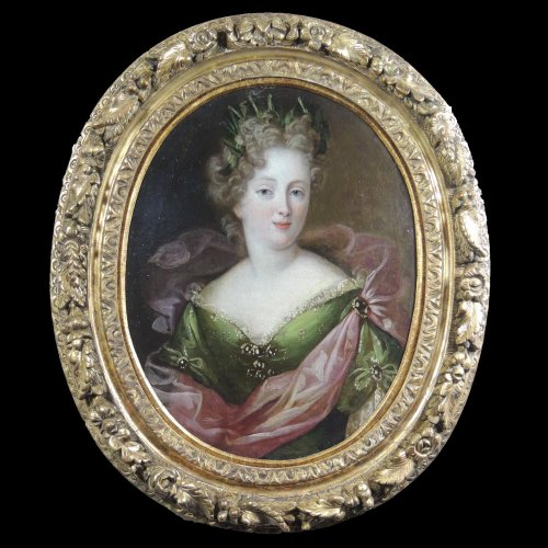 Portrait of a Lady of court - circle of François de Troy