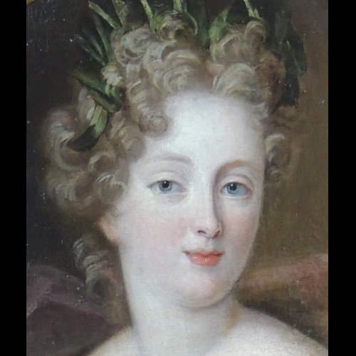Portrait of a Lady of court - circle of François de Troy - Paintings & Drawings Style Louis XIV