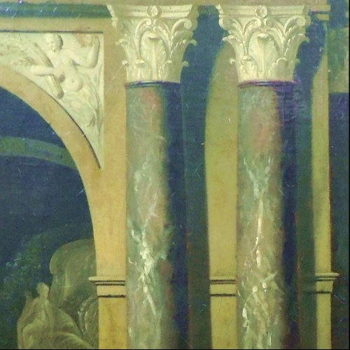 - Gerard Hoet - The court of Troy - XVIIth century