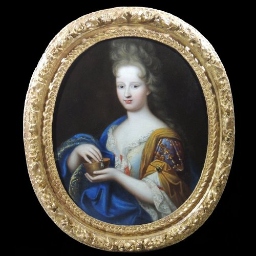 Marie Anne de Bourbon in Cleopatra - François de Troy workshop