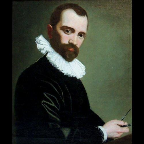 Architect Portrait 1590 - Circle Federico Barocci - Paintings & Drawings Style Renaissance