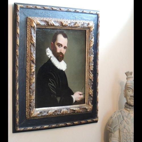 17th century - Architect Portrait 1590 - Circle Federico Barocci