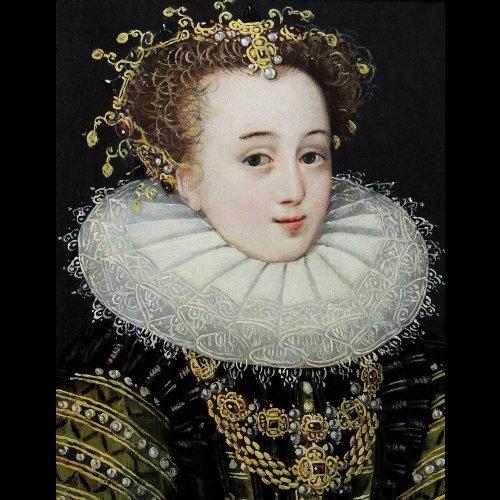Renaissance Princess - Italian School circle Lavinia Fontana - Paintings & Drawings Style Renaissance
