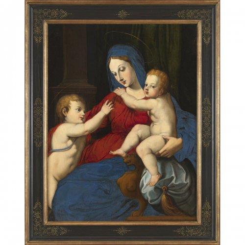 Italian Renaissance - Virgin and Child and St. John the Baptist