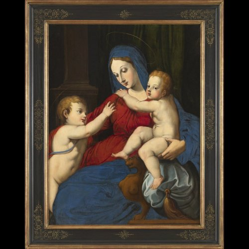 - Italian Renaissance - Virgin and Child and St. John the Baptist