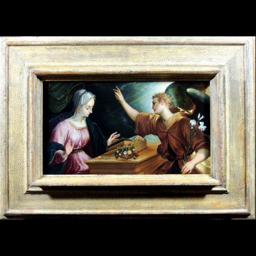 Painting on stone - Claudio Ridolfi (attr. to) early 17th century - Paintings & Drawings Style