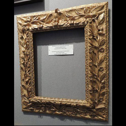 17th century - Exceptional French framework of Louis XIII period - Before 1640