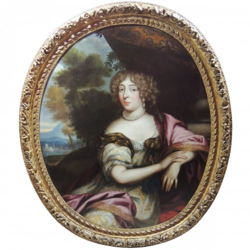 Anne Marie Louise d'Orléans circa 1660 - Pierre Mignard's workshop