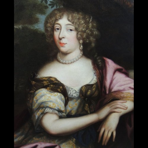 Anne Marie Louise d'Orléans circa 1660 - Pierre Mignard's workshop - Paintings & Drawings Style Louis XIV