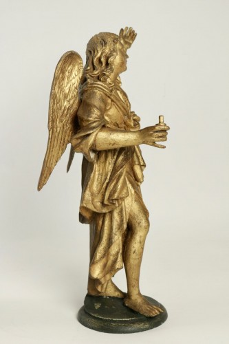 - Pair of ceroferial angels - Italy 17th century