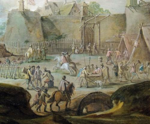 Paintings & Drawings  - Robert van den Hoecke (1622 – 1668) - Besieged city
