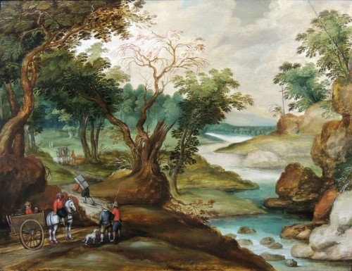 Antwerp School attr. to Izaak van Oosten (1613 – 1661)