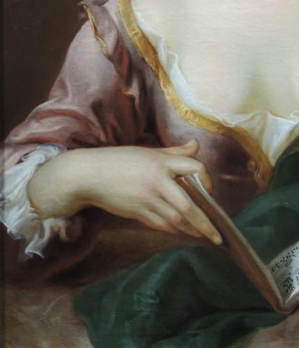 Portrait of a Musician – studio of Charles-Antoine Coypel (1694 – 1752) -