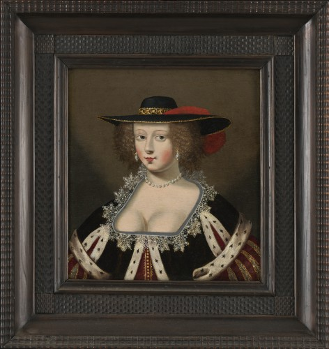 Dame au large chapeau – Atelier de Claude Deruet (1588 – 1660) - Art & Antiquities Investment