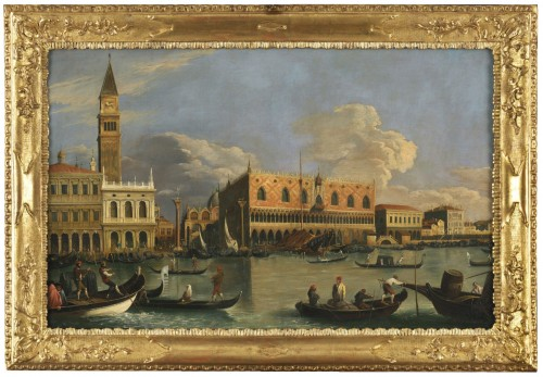 Veduta of Venice Molo – Canaletto School – Late 18th century
