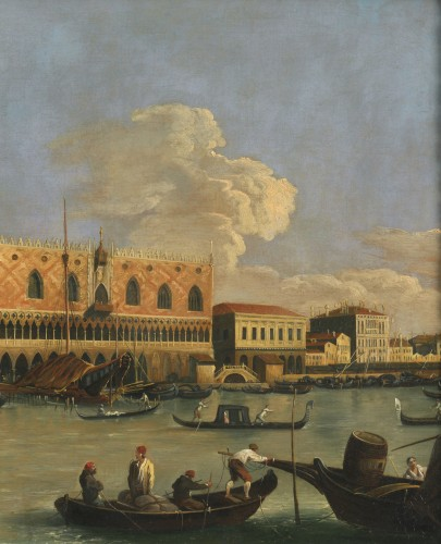 Veduta of Venice Molo – Canaletto School – Late 18th century  -
