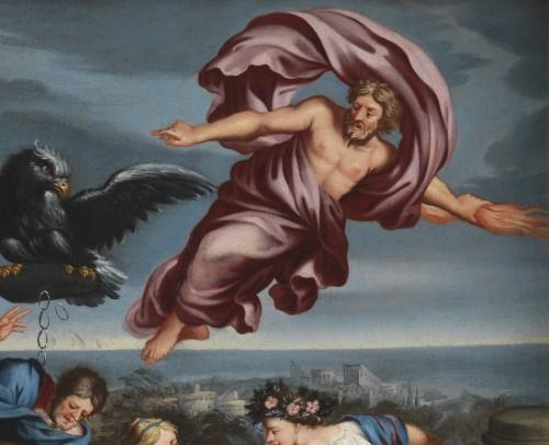 Roman School, 17th century - Allegory of Navigation after Pietro da Cortona -