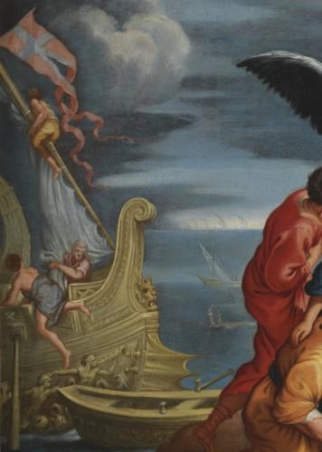 17th century - Roman School, 17th century - Allegory of Navigation after Pietro da Cortona