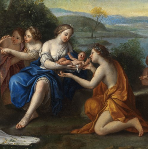 Paintings & Drawings  - The birth of Adonis - Marcantonio Franceschini (1648 - 1729) and workshop around 1690