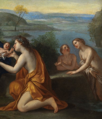 17th century - The birth of Adonis - Marcantonio Franceschini (1648 - 1729) and workshop around 1690