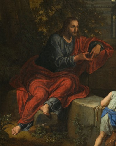 Christ and the Samaritan – Michel Corneille the Younger (1642 – 1708) -