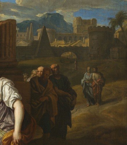 Christ and the Samaritan – Michel Corneille the Younger (1642 – 1708) - Louis XIV