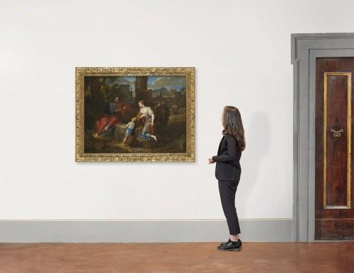 Antiquités - Christ and the Samaritan – Michel Corneille the Younger (1642 – 1708)