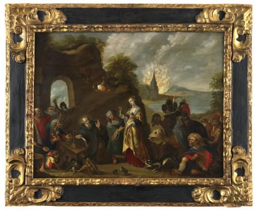 The Temptation of Saint Anthony – Studio of Frans II Francken (1581 – 1641)