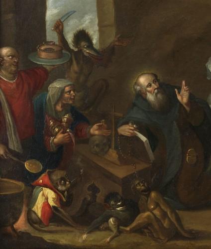 Paintings & Drawings  - The Temptation of Saint Anthony – Studio of Frans II Francken (1581 – 1641)