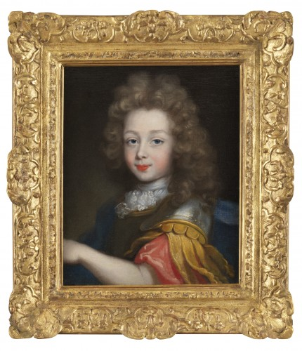 Presumed portrait of the Duke of Maine circa 1680, attributed to Pierre Mignard (1610-1695)