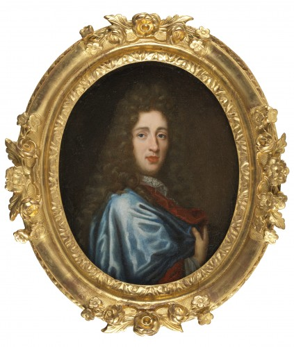Portrait of a gentleman - 17th century French school