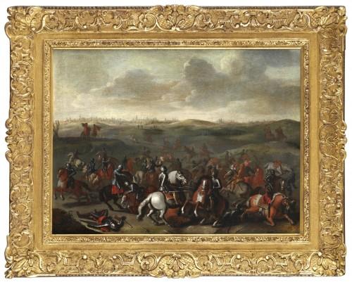 The Battle of Lekkerbeetje – Attributed to Sebastiaen Vrancx (1573 – 1647)