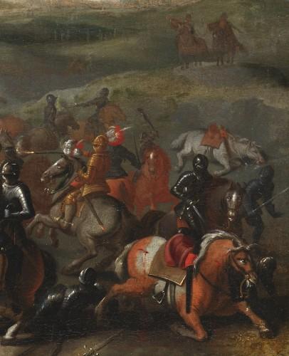 17th century - The Battle of Lekkerbeetje – Attributed to Sebastiaen Vrancx (1573 – 1647)