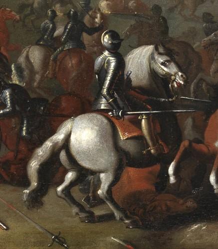 The Battle of Lekkerbeetje – Attributed to Sebastiaen Vrancx (1573 – 1647) -