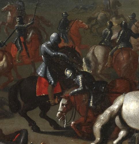 Antiquités - The Battle of Lekkerbeetje – Attributed to Sebastiaen Vrancx (1573 – 1647)