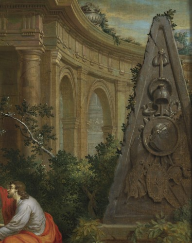 Paintings & Drawings  - Christ and the Samaritan woman - Frans van Dorne (1776 - 1848) signed and dated 1798