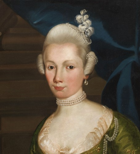 Paintings & Drawings  - Portrait of a Prussian Princess - Attributed to Anna Rosina de Gasc (1713 - 1783)