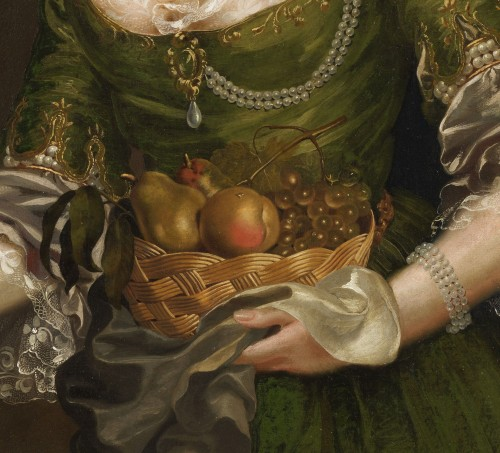 Portrait of a Prussian Princess - Attributed to Anna Rosina de Gasc (1713 - 1783) -