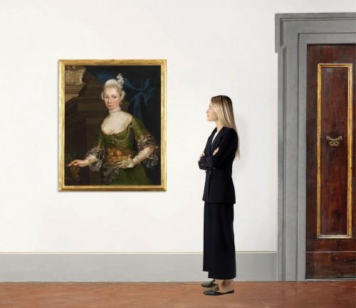 - Portrait of a Prussian Princess - Attributed to Anna Rosina de Gasc (1713 - 1783)