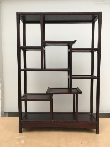 Small wooden shelf, circa 1900 century China. - Asian Art & Antiques Style