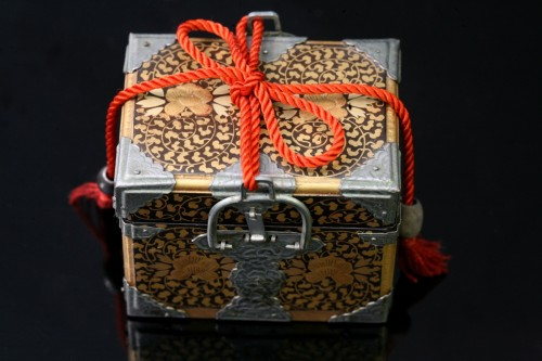 Asian Works of Art  - Miniature chest intended for the dolls party