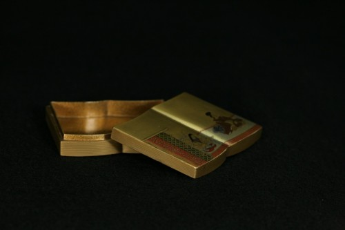Asian Works of Art  - Kobako in the shape of an open book