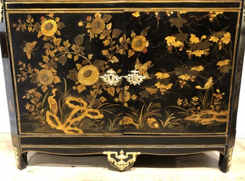 Antiquités - A Louis XVI 18th c. Chinese lacquer secretaire by L. Foureau