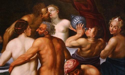 Adrien van Stalbemt (1580-1662) Wedding of Bacchus and Ariadne -