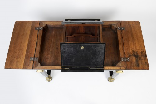 17th century - A Louis XIV Boulle marquetry duets table
