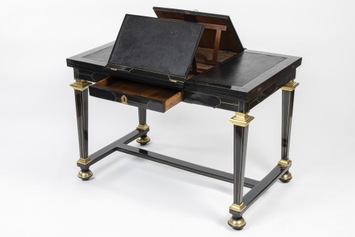 A Louis XIV Boulle marquetry duets table - Louis XIV