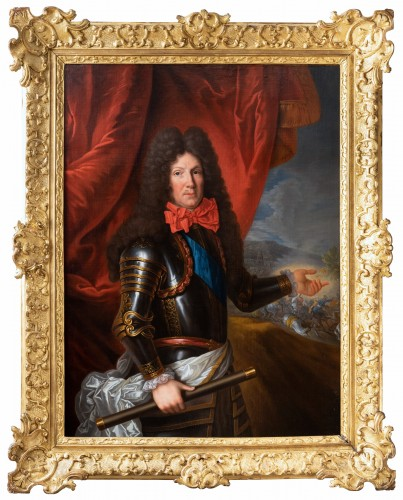 Portrait of marshal Choiseul-Francières, attributed to Pierre Mignard