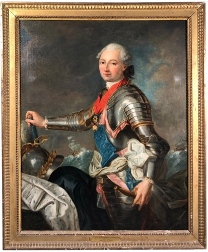 Portrait du Duc de Penthièvre, by J.B Charpentier the Elder circa 1780.